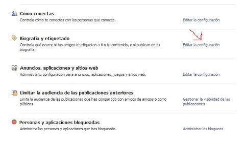 XXCómo evitar que aparezcan en tu biografía de Facebook imágenes etiquetadas por otros sin tu permiso